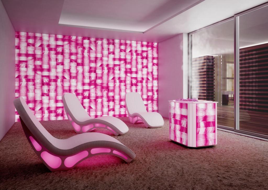 Соляная комната для сеансов галотерапии, Iso Benessere/ Италия